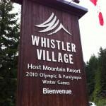 Whistler Olympic village