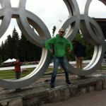 Posing with the rings