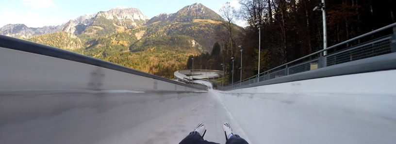 Luge run @ Königssee, Germany