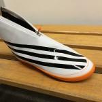 The luge shoes (Adizero)